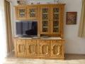 Wohnzimmerkasten mit TV / TV SAT (Ferienhaus Felkel)